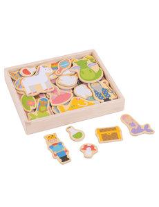Bigjigs Toys Houten Magneten 'Fantasie'