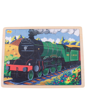 Bigjigs Toys Houten Puzzel 'Flying Scotsman' (35st.)