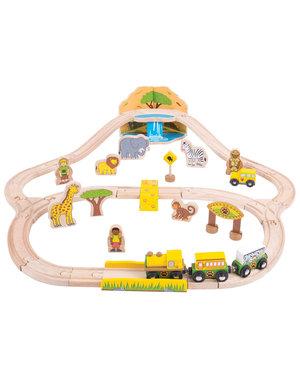 Bigjigs Rail Safari Treinset