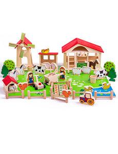 Bigjigs Toys Houten Boerderij