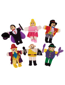 Bigjigs Toys Houten Vingerpopjes 'Circus'