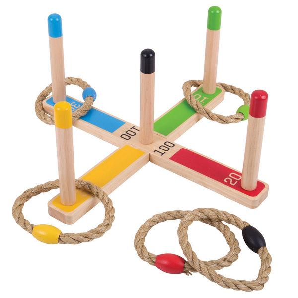 Bigjigs Toys Houten Ringwerpspel