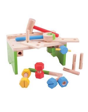 Bigjigs Toys Houten Werkbankje