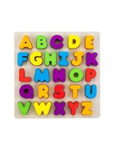Engelhart Education Rubberhouten Alfabet Puzzel