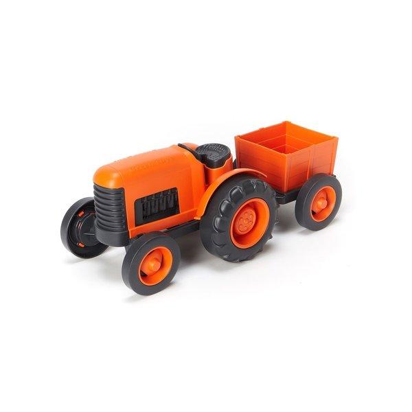 Green Toys Tractor 'Oranje'