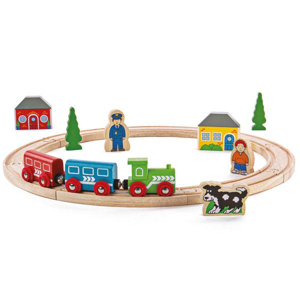 Bigjigs Rail 'Mijn eerste Houten Treinset'