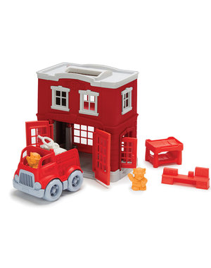 Green Toys Brandweerkazerne Speelset