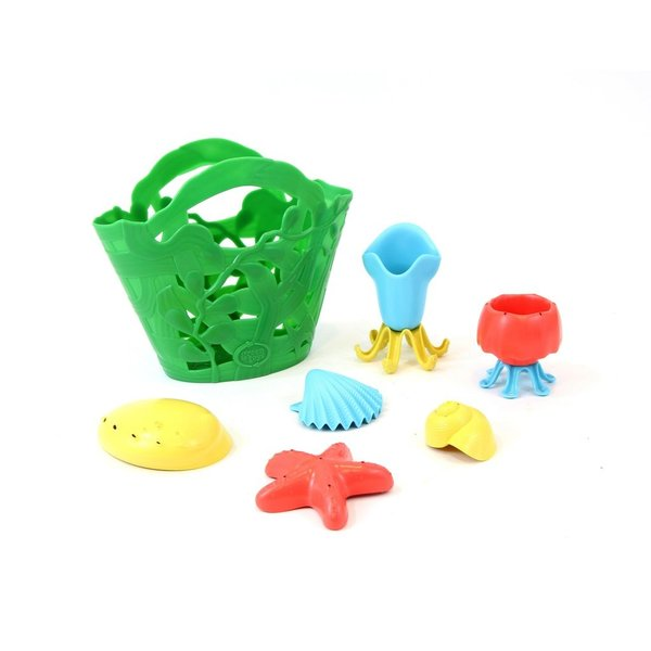 Green Toys Badspeelset 'Zeedieren'
