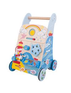 Bigjigs Baby Activiteiten Loopwagen 'Zee'