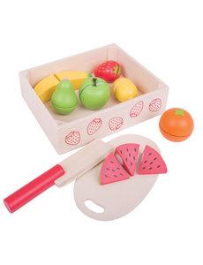 Bigjigs Toys Fruitkistje met Snijset