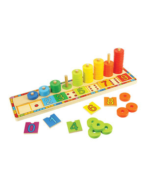 Bigjigs Toys Houten Telbord