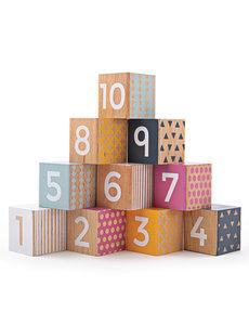 Bigjigs Toys Houten Nummerblokken