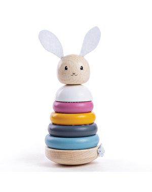 Bigjigs Toys Stapelringen 'Konijn'