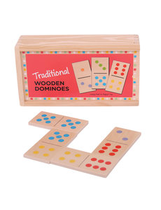Bigjigs Toys Traditionele Houten Dominostenen