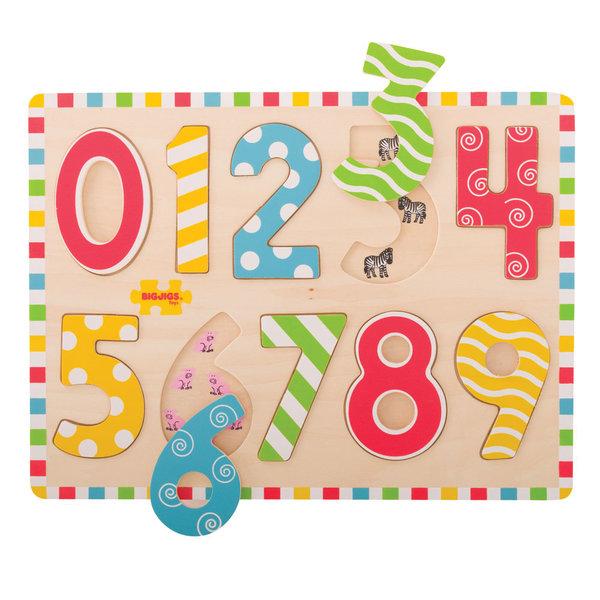 Bigjigs Toys Inlegpuzzel 'Cijfers'