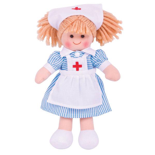 Bigjigs Toys Lappenpop 'Zuster Nancy' (Small)