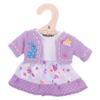 Lila jurk en vest - Small