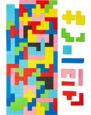 Small Foot Houten Tetris Puzzel