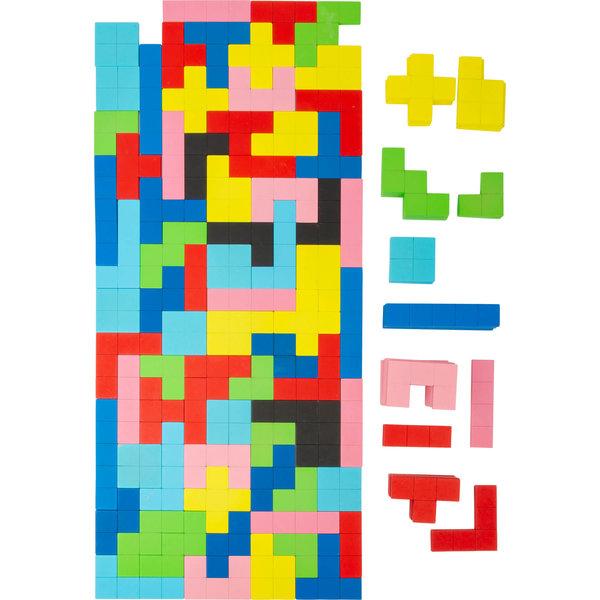 Small Foot Houten Tetris Puzzel