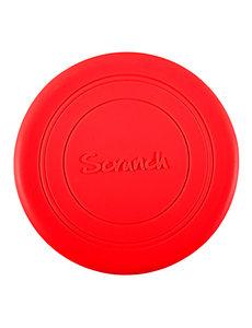 Scrunch Siliconen Frisbee 'Red'