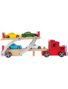 Small Foot Houten autotransporter