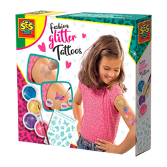 Fashion glitter tattoos