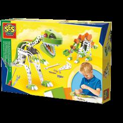 Metaal constructieset Dino
