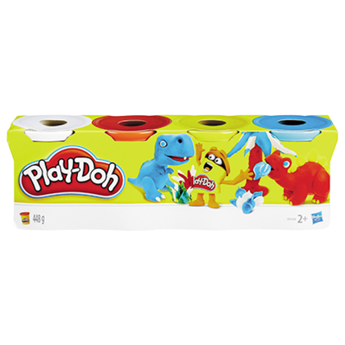 PLAY-DOH Hasbro PLAY-DOH KLASSIEKE KLEUREN 4PACK ASST