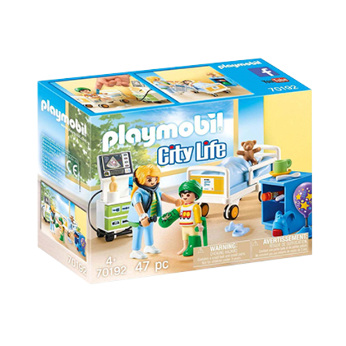 PLAYMOBIL PLAYMOBIL 70192 ZIEKENHUISKAMER