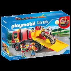 PLAYMOBIL 70199 SLEEPWAGEN MET MOTOR