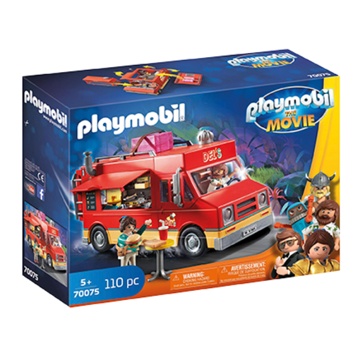 PLAYMOBIL PLAYMOBIL 70075 MOVIE FOODTRUCK VAN DELS