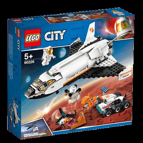 LEGO LG CITY 60226 MARS ONDERZOEKSSHUTTLE