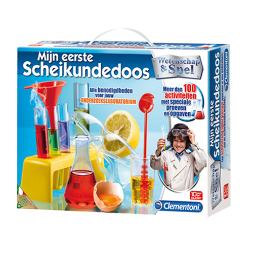 Clementoni WETENSCHAP MIJN EERSTE SCHEIKUNDEDOOS (NL)