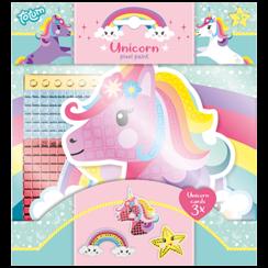Unicorn pixel paint