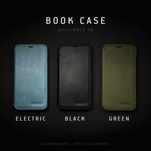 Minim Book Case - Black, Apple iPhone 7/8/SE (2020)