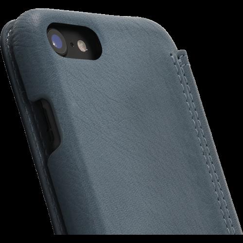 Minim Book Case - Light Blue, Apple iPhone 7/8/SE (2020)