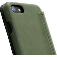 Book Case - Olive Green, Apple iPhone 7/8/SE (2020)