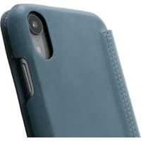 Book Case - Light Blue, Apple iPhone XR