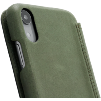 Book Case - Olive Green, Apple iPhone XR