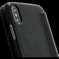 Book Case - Black, Apple iPhone X/XS