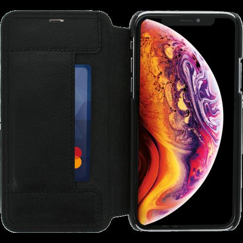 Minim Book Case - Black, Apple iPhone X/XS
