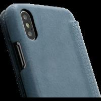 Book Case - Light Blue, Apple iPhone X/XS