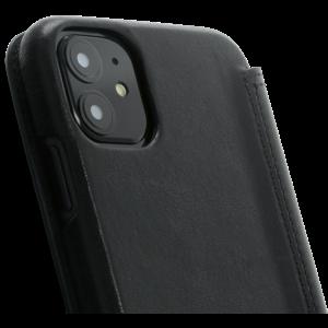 Minim Book Case - Black, Apple iPhone 11