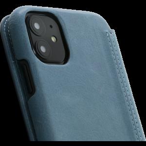 Minim Book Case - Light Blue, Apple iPhone 11