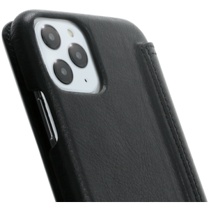 Minim Book Case - Black, Apple iPhone 11 Pro