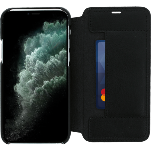 Minim Book Case - Black, Apple iPhone 11 Pro