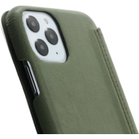 Book Case - Olive Green, Apple iPhone 11 Pro