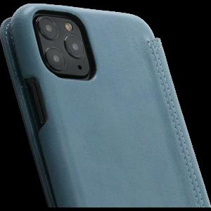 Minim Book Case - Light Blue ,Apple iPhone 11 Pro Max