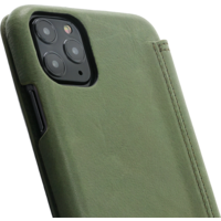 Book Case - Olive Green, Apple iPhone 11 Pro Max