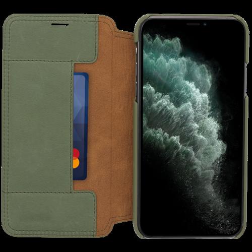 Minim Book Case - Olive Green, Apple iPhone 11 Pro Max